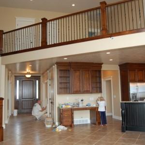 Stairway - Kitchen